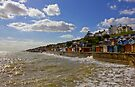 Beach huts At Frinton On Sea by Darren Burroughs