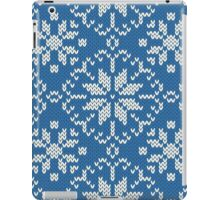 Knitted winter jacquard iPad Case/Skin