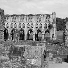 Rievaulx Abbey Ruins -English Heritage by Audrey Clarke