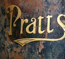 Pratts sign by Woodie