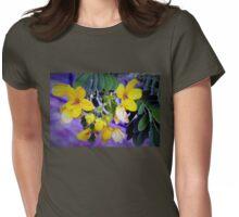 Splendid yellow flowers Womens Fitted T-Shirt