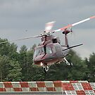 Royal Flight - Sikorsky VIP Transport by Barrie Woodward