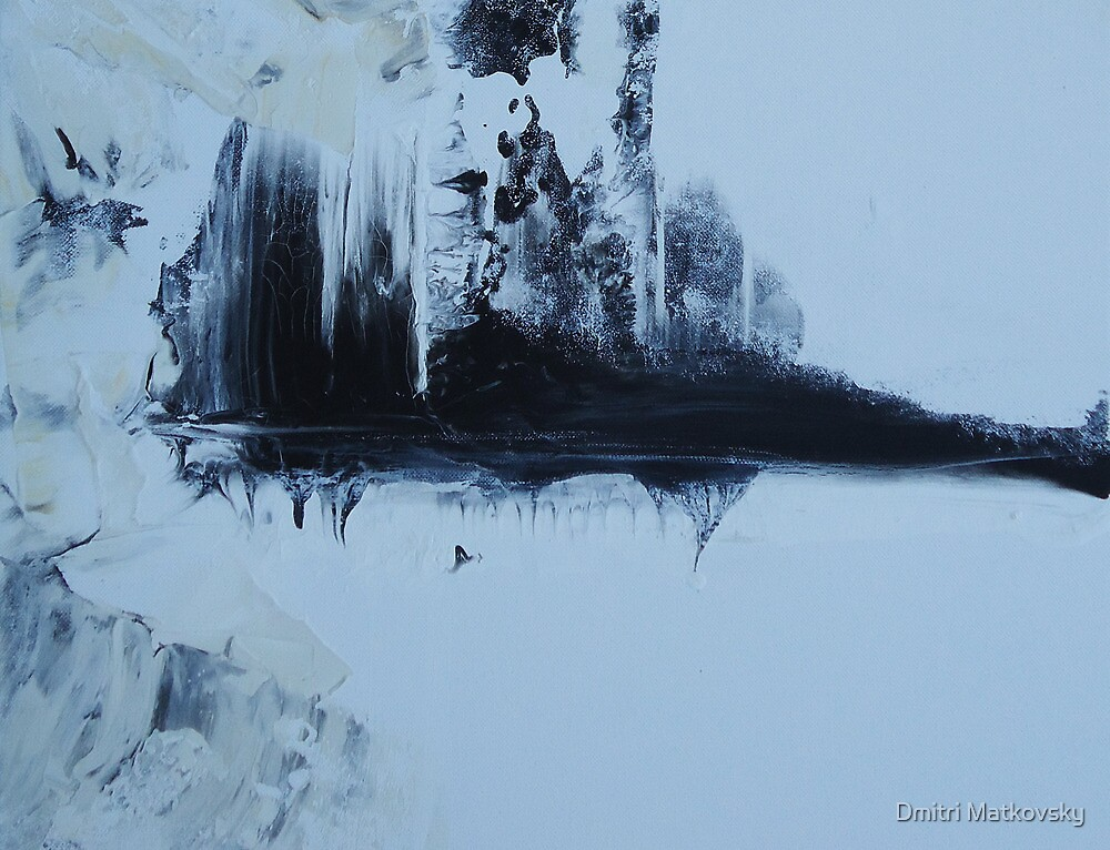 Some Sky in the Cold Water - Disappearing Urban Landscape by Dmitri Matkovsky