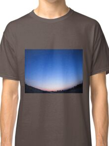 Clear skies over the city after sunset Classic T-Shirt