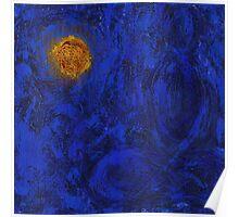 buddha blue six Poster