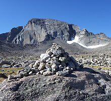 Longs Peak, Rocky Mtn National Park by Bernie Garland