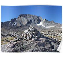 Longs Peak, Rocky Mtn National Park Poster