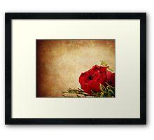 So Romantic  Framed Print