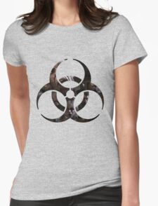 Biohazard - Zombies Womens Fitted T-Shirt