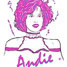 Pretty In Pink Andie by Michael Donnellan