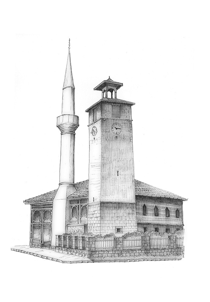 Travnik, a motive by Emir Isovic