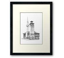 Travnik, a motive Framed Print