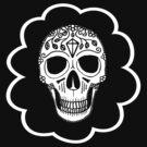 Candy Skull Carebear by kjen20
