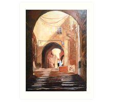 Seductive Arches(Sold) Art Print