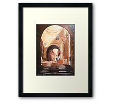 Seductive Arches(Sold) Framed Print