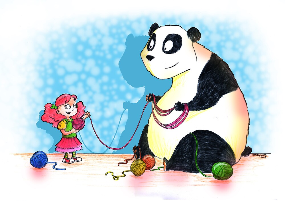 Panda is our friend by Emir Isovic