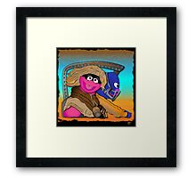 Mad Mupps - Furry Road Framed Print