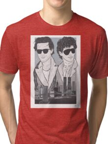 The Pope Of Greenwich Village (Sunglasses Variant) Tri-blend T-Shirt