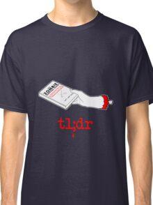 Too Long Didn't Read Dark Classic T-Shirt