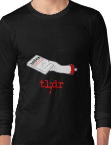 Too Long Didn't Read Dark Long Sleeve T-Shirt