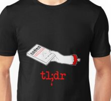 Too Long Didn't Read Dark Unisex T-Shirt