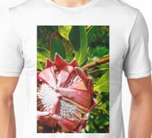 Flowers can be Shy Too Unisex T-Shirt