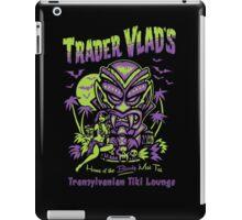 Trader Vlad's Transylvanian Tiki Hut iPad Case/Skin