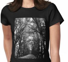 Keep to the Path Womens Fitted T-Shirt