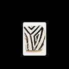 Ancient Anasazi Pottery Shard by doorfrontphotos