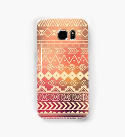 Aztec pattern 01 Samsung Galaxy Case/Skin