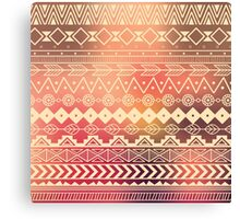 Aztec pattern 01 Canvas Print
