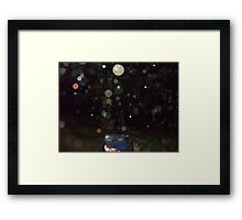 Orb Reporting Photograph #16 Framed Print