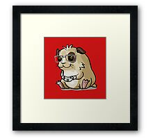 Gamer-Pig Framed Print