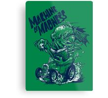 Machine of Madness Metal Print
