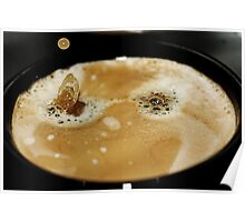 A Cup Of Hot Black Coffee Poster