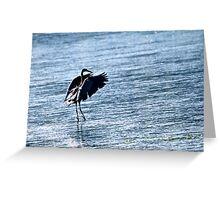 Water Dance.... Greeting Card