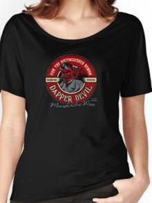 Dapper Devil Moustache Wax Women's Relaxed Fit T-Shirt