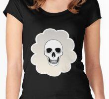 skully bear Women's Fitted Scoop T-Shirt