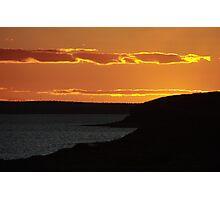 Sunset, Lowly Peninsula, South Australia Photographic Print