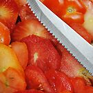 Sliced Tomato Ends by Jonice