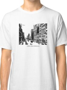 Collins Street Melbourne Classic T-Shirt