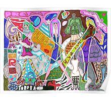 'Fashion Express' ~ Original Pieces Art™ Poster