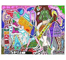 'Fashion Express' ~ Original Pieces Art™ Photographic Print