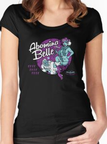 Abomina Belle  Women's Fitted Scoop T-Shirt