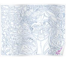 'Behind Me Destruction, Before Me Building--Reflections of My Future ~ The Blueprints' Pieces Art™ Poster