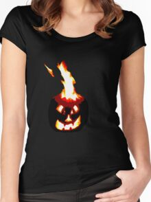 Jack-O-Lantern Women's Fitted Scoop T-Shirt
