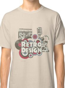 The retro design Classic T-Shirt