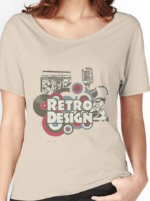 The retro design Women's Relaxed Fit T-Shirt