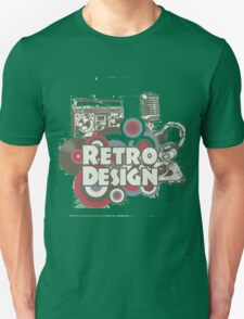 The retro design Unisex T-Shirt