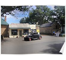Ross Newsagency and Takeaway (Hot Rod) Poster